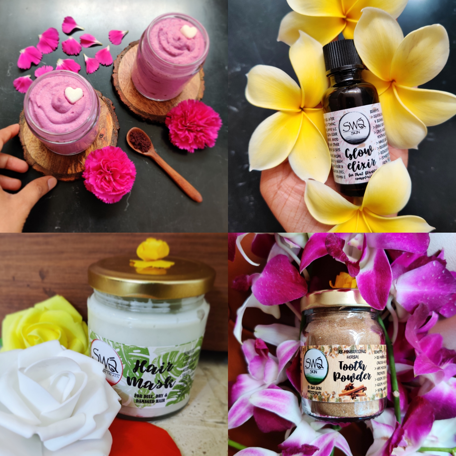 Handcrafted Organic Products from Swa Skin