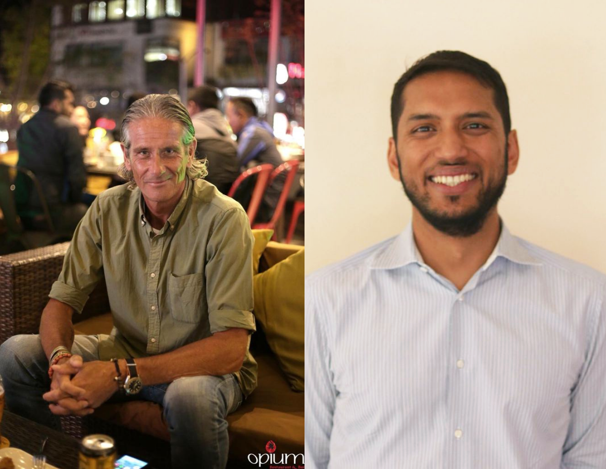 Tommy Gustafsson, Project Director (Left) and Varun Saraf, Project promoter(Right)