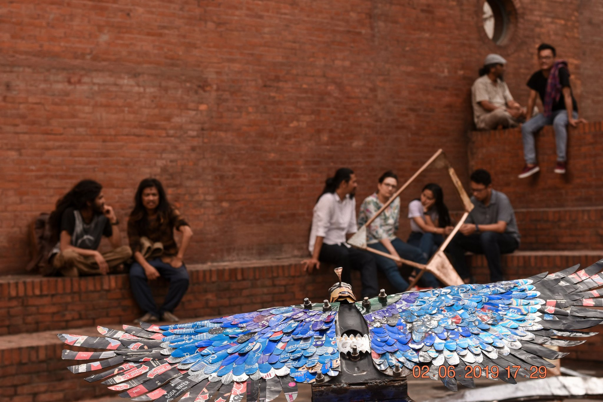 artists making art from waste