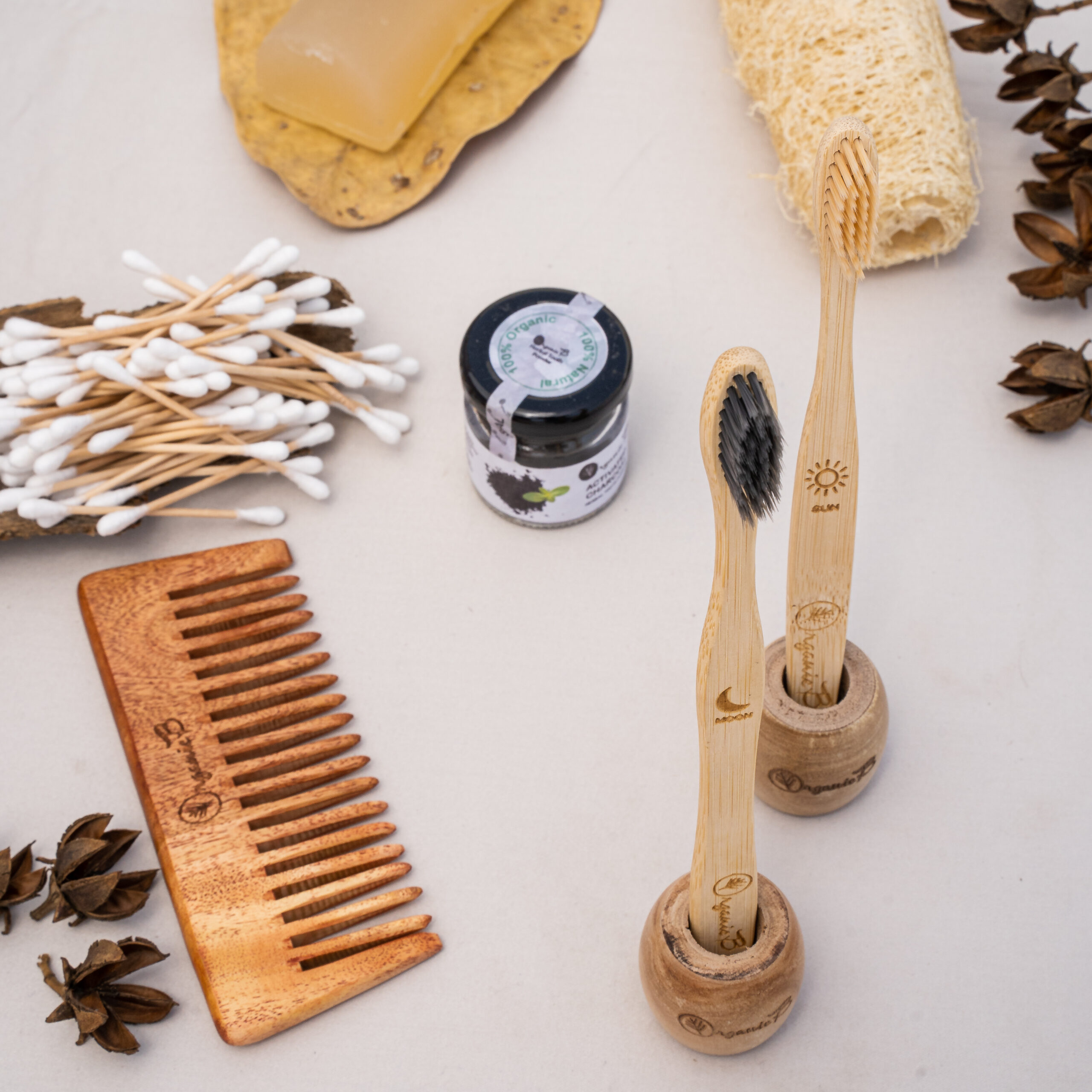 Sustainable Personal Care Products from Organic B